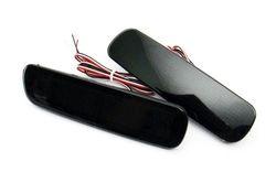 Катафоты в задний бампер LC100/LX470 диодные, темные (комплект)