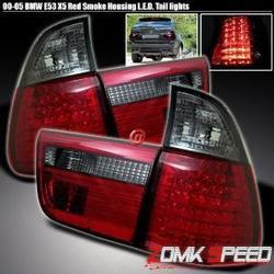 Фонари задние светодиодные тонированные BMW X5