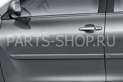Боковые молдинги для Тойота Хайлендер (OEM-в цвет кузова)