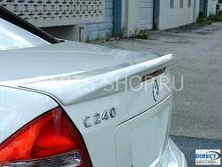 Спойлер с вырезом под стоп-сигнал W203 Mercedes