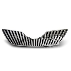 Решетка радиатора вертикальные полосы хром Camry40 07-