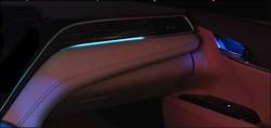 Camry v70 подсветка Luxury (3 цвета)