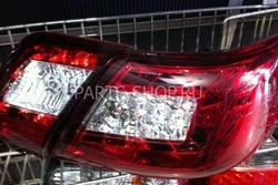 Фонари задние Camry40 диодные красно-хромированные