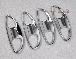 Хромированные накладки под ручки дверей Corolla 2013