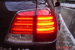Фонари задние LC200 в стиле LX570 светодиодные.