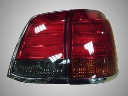 Фонари задние LC200 в стиле LX570 светодиодные тонированные