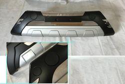 Накладка переднего бампера пластиковая с хромом, с надписью iX35 09-12