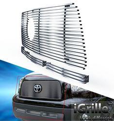 Решетка радиатора и бампера Tundra нерж. (комплект)