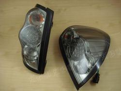 Фонари задние светодиодные дымчатые L200 05-15