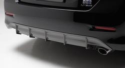 Диффузор заднего бампера для camry acv50