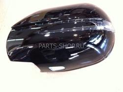Корпуса на зеркала LC120 дизайн Mercedes SL с диодными повторителями поворотов и подсветкой снизу (черн., бел., сереб.)