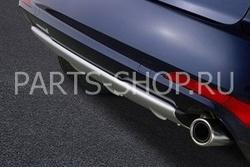 Накладка заднего бампера Mazda CX-7 2010-