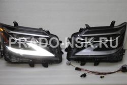 Фары GX460 14-19 стиль 2020