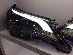 Фары линзовые rav4, дизайн lexus