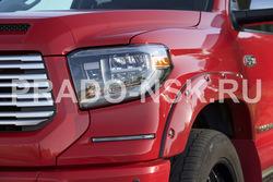 Фары диодные стиль TRD PRO Tundra 2014-20 с динамическим поворотником