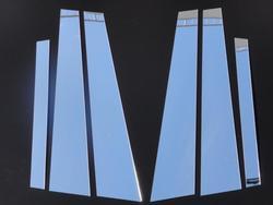 Накладки на стойки дверей LX470 ( 6 частей)