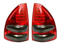 Фонари задние диодные-тонированные Toyota Land Cruiser Prado 120