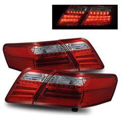 Фонари задние светодиодные Camry40 дизайн Lexus