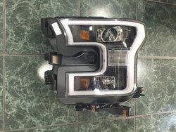 Фары линзовые с ходовыми огнями ford f-150 2015
