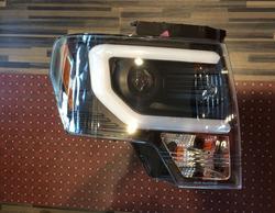 Фары линзовые для ford f150 2009-14