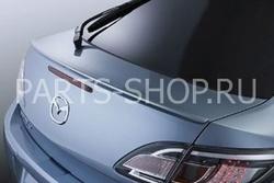Спойлер на крышку багажника (поставляется в цвет) на Mazda 6 2008-