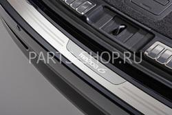 Накладка на задний бампер из н/с для Mazda 6 2008-
