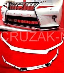 Губа на передний бампер для lexus rx дизайн F-sport