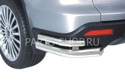 Защита заднего бампера угловая Honda CR-V
