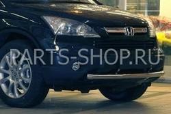 Защита переднего бампера одинарная Honda CR-V