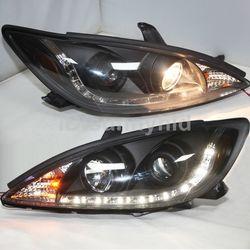 Фары черные линзовые Camry ACV30
