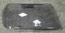 Защита фар на lc100 98-07 дымчатая
