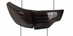 Фонари задние highlander 2014 дымчатые стиль LEXUS