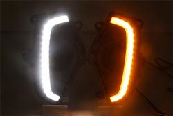Ходовые огни с поворотником Rav4