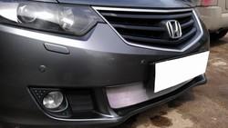 Защита радиатора на accord (черная или хром)