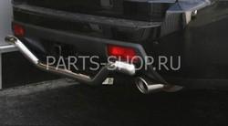 Защита заднего бампера одинарная Honda Pilot