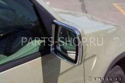 Оконтовка зеркал хромированная BMW