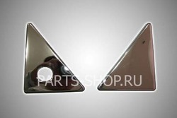 Накладки на крышку багажника GX460 (комплект)