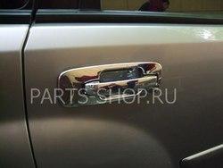 Хром накладки на ручки дверей Nissan