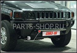 Защита переднего бампера Hummer