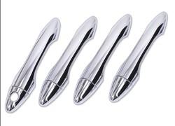 Накладки на дверные ручки ix35 (под чип, два и без)