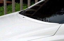 Козырек на капот Hyundai Elantra