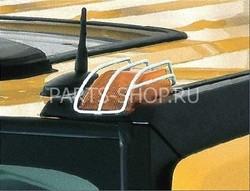 Металические накладки на передние поворотники Hummer