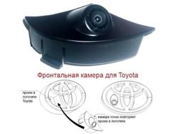 Камера переднего обзора LC200 в штатную решётку радиатора