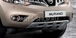 Передняя защита для Nissan Murano 2008-