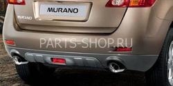 Задняя защита для Nissan Murano 2008-