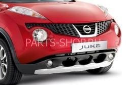 Накладка под передний бампер для Nissan Juke