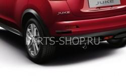 Комплект накладок на передний и задний бампер Juke