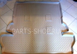 Коврик багажник полиуретан LX570 (сер, черн, беж.)