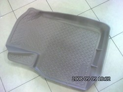 Коврики салона резино-пластиковые LC100 бежевые
