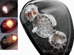 Фонари задние светодиодные черные L200 05-15